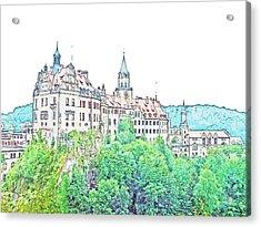 Sigmaringen Palace Germany Acrylic Print by Joseph Hendrix