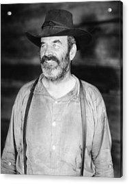 Silent Film Still: Beards Acrylic Print by Granger