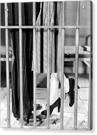 Silent Film Still: Legs Acrylic Print by Granger