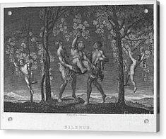 Silenus Acrylic Print by Granger