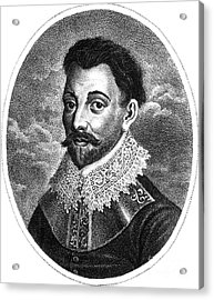 Sir Francis Drake, English Explorer Acrylic Print by Photo Researchers