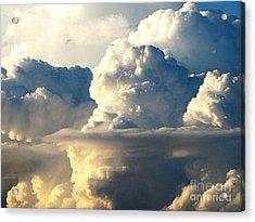 Sky Sky Acrylic Print by Yury Bashkin