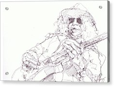 Slash Acrylic Print by Bobby LeVangie