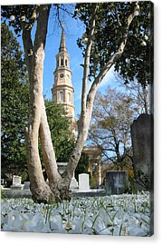 Snow Southern Style Acrylic Print