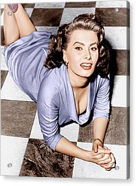 Sophia Loren, Ca. 1950s Acrylic Print