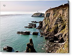 South Stack Acrylic Print by Gary Finnigan