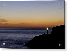 South Stack Lighthouse Acrylic Print by Gary Finnigan