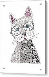 Spec-catular Acrylic Print by Paula Dickerhoff