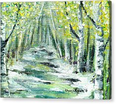 Acrylic Print featuring the painting Spring by Shana Rowe Jackson