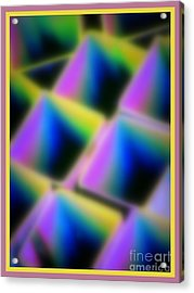 Squares Acrylic Print by Irina Hays