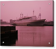 Ss Rotterdam Acrylic Print by Nop Briex