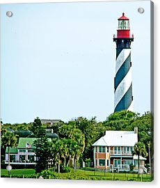 St. Augustine Lighthouse Acrylic Print by Kenneth Albin
