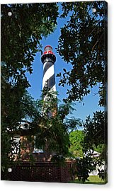 St Augustine Lighthouse Acrylic Print by Skip Willits