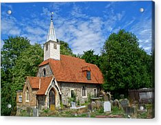 St Laurence Church Cowley Middlesex Acrylic Print