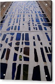 Stained Glass Acrylic Print by Judge Howell
