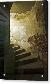 Staircase Down Into The Demilune Acrylic Print