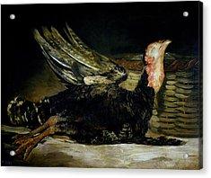 Still Life Acrylic Print by Goya