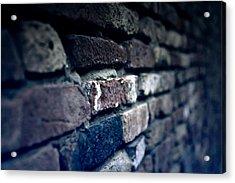 Stone Wall Acrylic Print by Joana Kruse