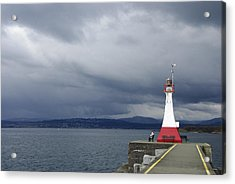 Acrylic Print featuring the photograph Stormwatch by Marilyn Wilson