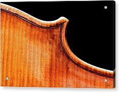 Acrylic Print featuring the photograph Stradivarius Back Corner by Endre Balogh
