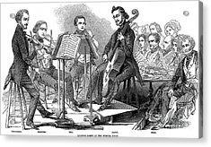 String Quartet, 1846 Acrylic Print by Granger