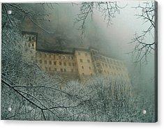 Acrylic Print featuring the photograph Sumela Monastery by Lou Ann Bagnall
