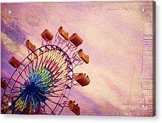 Summer Fun Acrylic Print by Darren Fisher