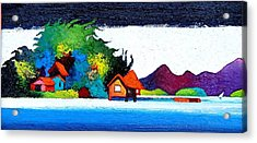 Summer Vacation Acrylic Print by Rob M Harper