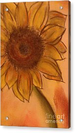 Sunflower Acrylic Print by Tammy Herrin