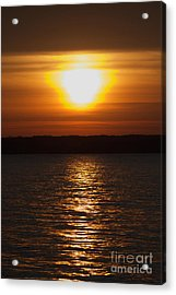 Acrylic Print featuring the photograph Sunrise On Seneca Lake by William Norton