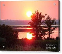 Sunset Ambience Acrylic Print by Ronald Tseng