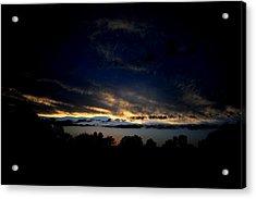 Sunset Acrylic Print by Frank DiGiovanni