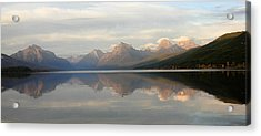 Sunset Lake Mcdonald Acrylic Print