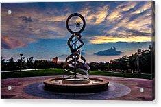 Sunset Acrylic Print by Sergio Aguayo