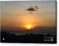 Sunset Upon The Ocean  Acrylic Print