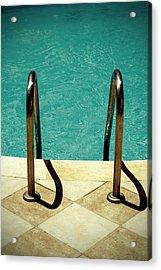 Swimming Pool Acrylic Print by Joana Kruse