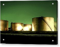 Tanks Acrylic Print by Michael Nowotny