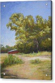 Tennessee Barn Acrylic Print by Carol Conrad