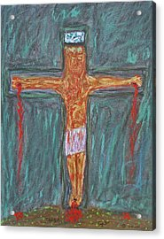 Thank  God  For  Good  Friday Acrylic Print by Carl Deaville