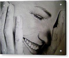 That Shy Acrylic Print