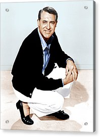 That Touch Of Mink, Cary Grant, 1962 Acrylic Print by Everett