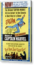 The Adventures Of Captain Marvel, Tom Acrylic Print by Everett