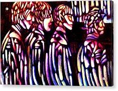The Beatles Acrylic Print by Giuliano Cavallo