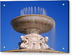 Acrylic Print featuring the photograph The Belle Isle Scott Fountain by Gordon Dean II