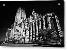 the Cathedral Church of Christ Liverpool Anglican Cathedral Merseyside England UK Acrylic Print by Joe Fox