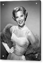 The Dinah Shore Chevy Show Aka The Acrylic Print by Everett