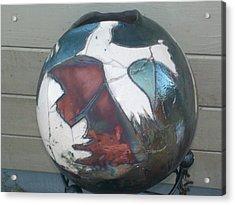 The Eagle Acrylic Print by Susan Bornstein