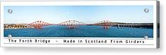 The Forth Bridge Acrylic Print
