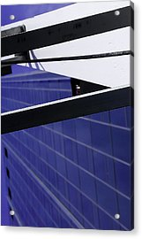 The Gate Acrylic Print by Michael Nowotny