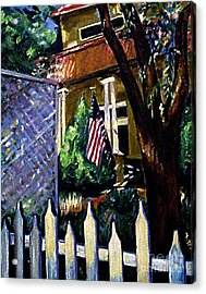 The Grant House Acrylic Print by Karen Francis